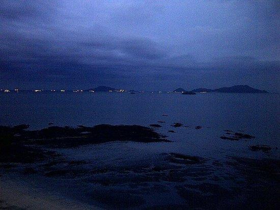 The Westin Playa Bonita Panama: The ships lining up at night