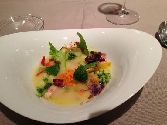 Sud Ristorante: Primi - seafood Minestra