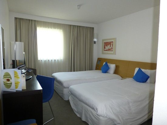 Novotel London Greenwich : Zimmer