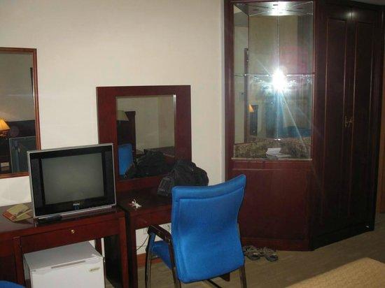 Hotel des Parlementaires: intérieur chambre