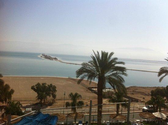 Leonardo Plaza Hotel Dead Sea : View from Room - mini suite