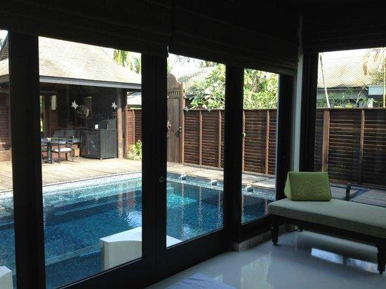 Anantara Mai Khao Phuket Villas: view from inside