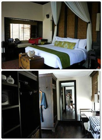 Anantara Mai Khao Phuket Villas: bedroom and changing area