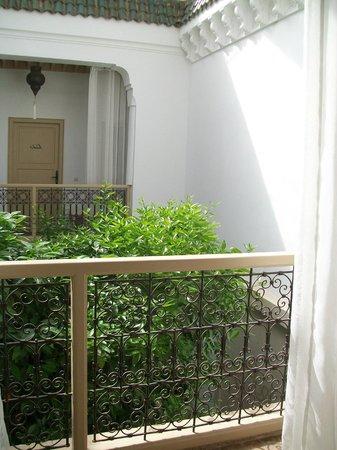 Riad les Orangers d'Alilia Marrakech : Vue sur le patio
