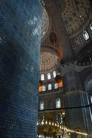 Yeni Cami : Inside the New Mosque