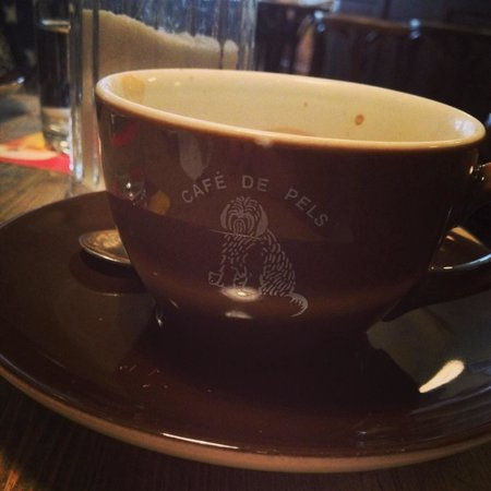 Cafe De Pels: Grear coffee