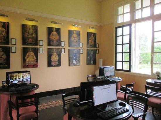 La Residence Hue Hotel & Spa: Business centre - Internet gratuit