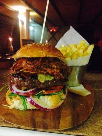 Newquay Meadery: Captain Jacks Burger