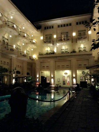 The Phoenix Hotel Yogyakarta - MGallery Collection: view from the pool