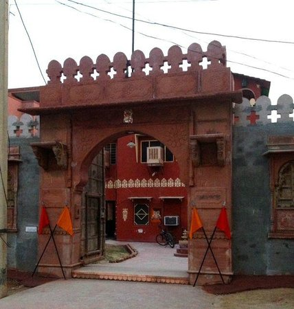 Chandra Niwas Guest House: Chandra Niwas Guesthouse entrance