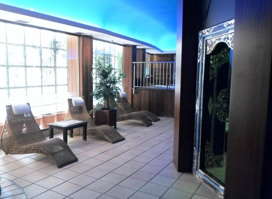 Hotel Escorial & Spa: Relax area in wellness centre