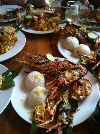 Royal Beach Hotel : Vue avec gourmandise