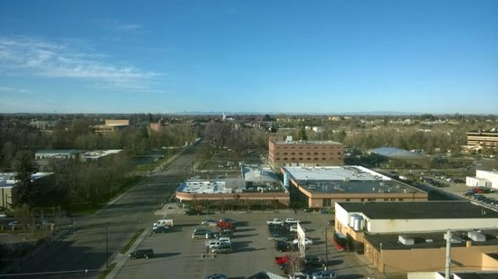 Hampton Inn & Suites Boise Downtown: View south from 10th Floor Room