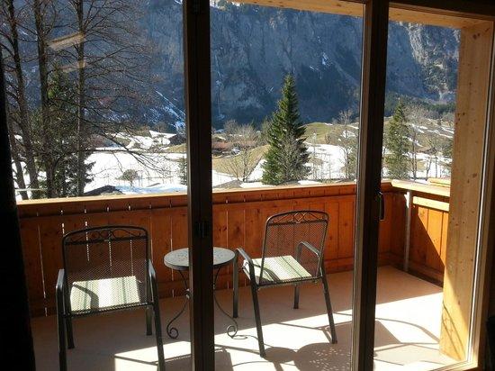Waldhotel Doldenhorn: Balkon