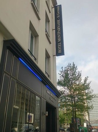 Hotel Montparnasse Saint-Germain: 外観