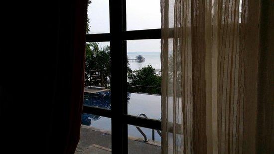 Nirwana Gardens - Indra Maya Pool Villa: View from master bedroom
