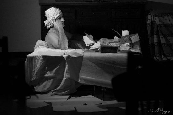 Obra teatral Marat en el Cosmos Avenida 13/02/2014