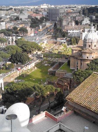 panoramica sui fori imperiali - Foto di Roma dal Cielo Terrazza ...