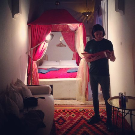 Riad Tizwa: Our room