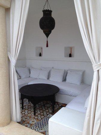 Riad Tizwa: Terrace