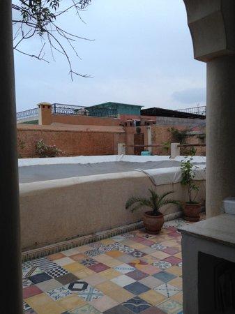 Riad Tizwa: Courtyard
