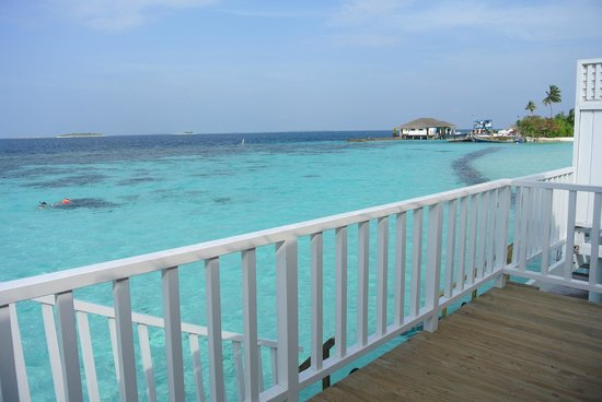 Centara Grand Island Resort & Spa Maldives : View from our deck