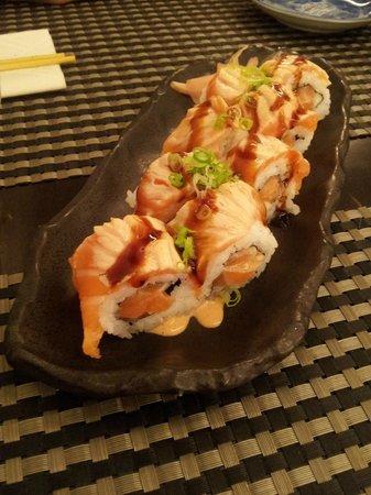 La cuina de l'Uribou: Maki Spicy Salmon Tataki