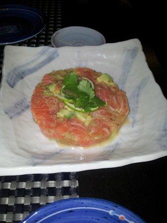 La cuina de l'Uribou: Sashiviche de salmón