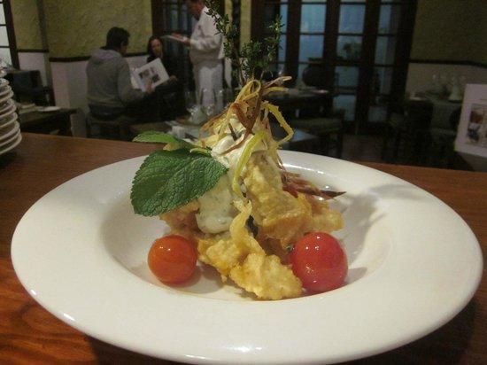 Tasca Fandango: Rebozaditos de merluza con salsa tártara