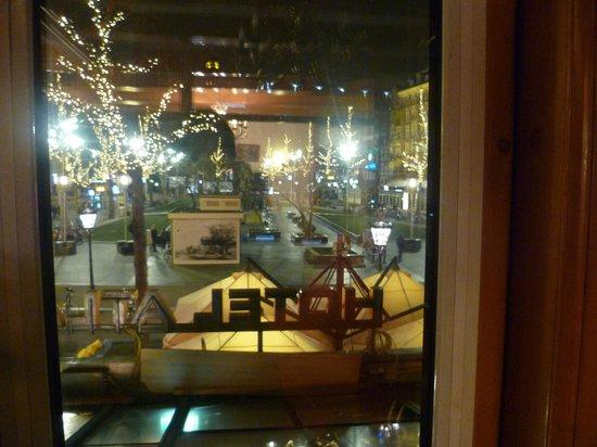 Atlanta Hotel : View From Reception/Dining Room
