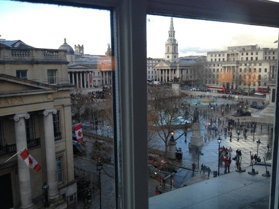 The Trafalgar Hotel: View from the room