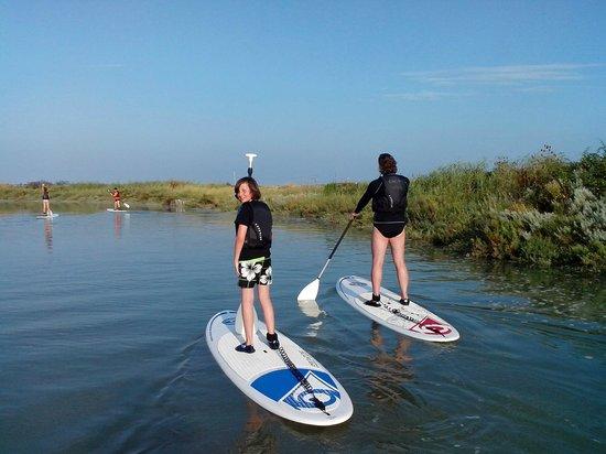 CNCO Ecole de voile : Balade en Stand Up Paddle