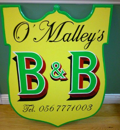 O'Malley's Bed and Breakfast: This is us!