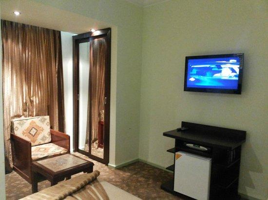 Swiss Inn Hotel Cairo: satellite tv
