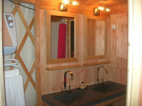 Les Hauts d'Albas : Salle de bains