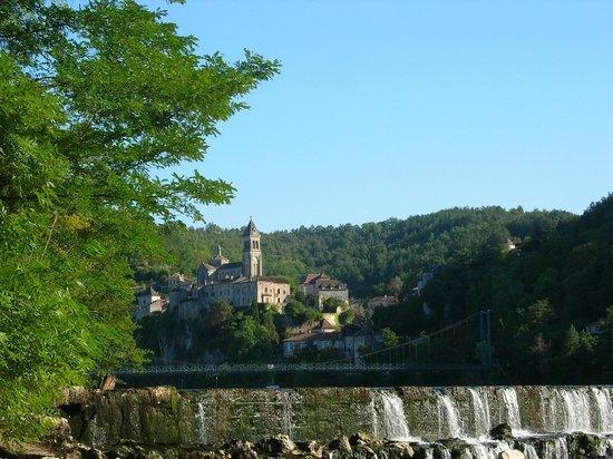 Les Hauts d'Albas: Village d'Albas, Vallée du Lot et du Vignoble