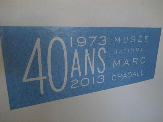 Musée Message Biblique Marc Chagall: 開館40周年