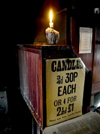 Blists Hill Victorian Town : candle shop