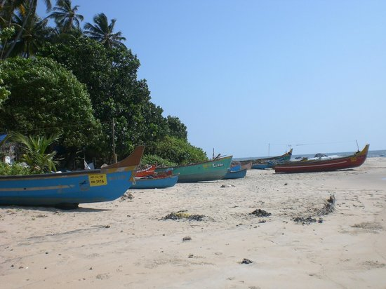 Chera Rock Beach House : Boats