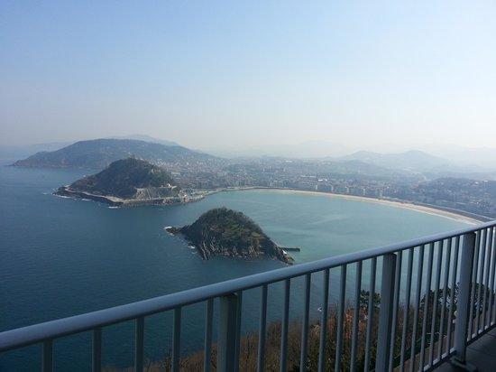 Mercure Monte Igueldo : vistas
