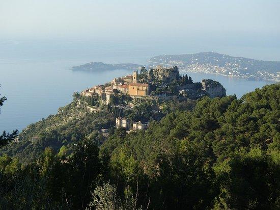 Domaine Pins Paul : Magnifique panorama sur Eze et le Cap Ferrat