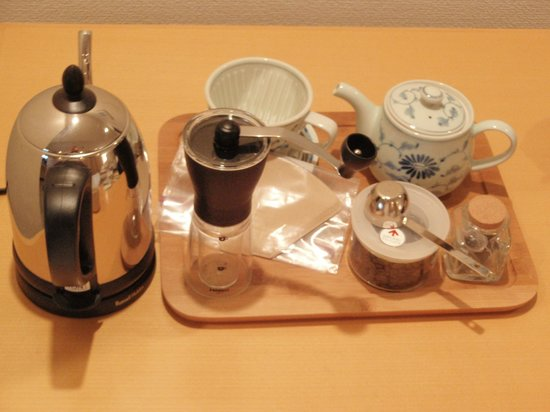 Villa Concordia Resort & Spa: coffe set