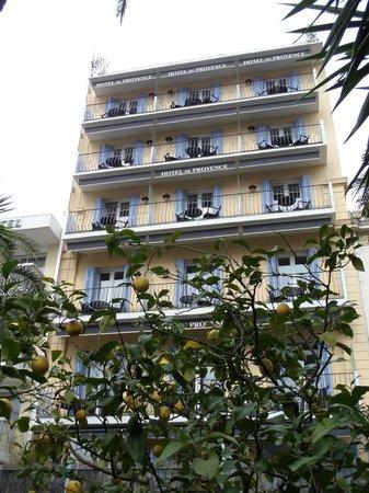 Hotel de Provence: Vorderansicht