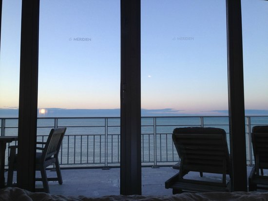 Le Meridien Nice: View from bed