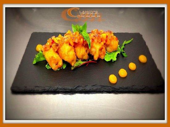 Clancy's Bar & Restaurant: Tempura of Prawns