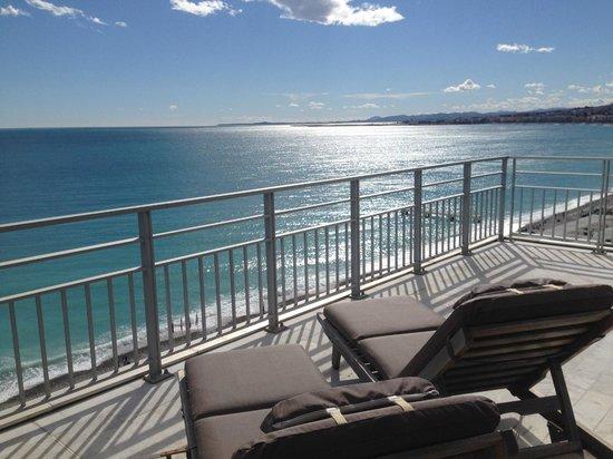 Le Meridien Nice : Terrace