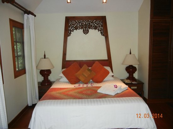Poppies Samui: The bedroom