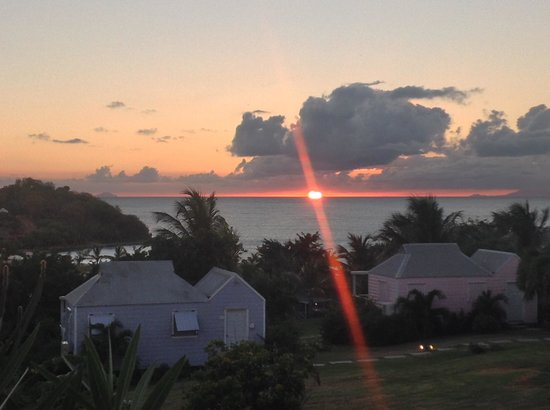 Cocobay Resort: Sunset from Redonda 1