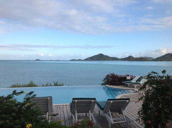 Cocobay Resort : View from top pool