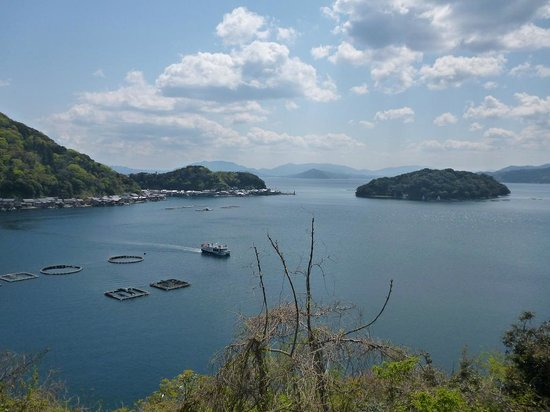 Ine-cho, ญี่ปุ่น: 伊根湾を一望